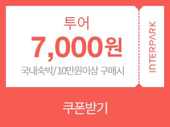 투어 50,000원 쿠폰 다운받기(해외여행/60만원 이상 구매시)