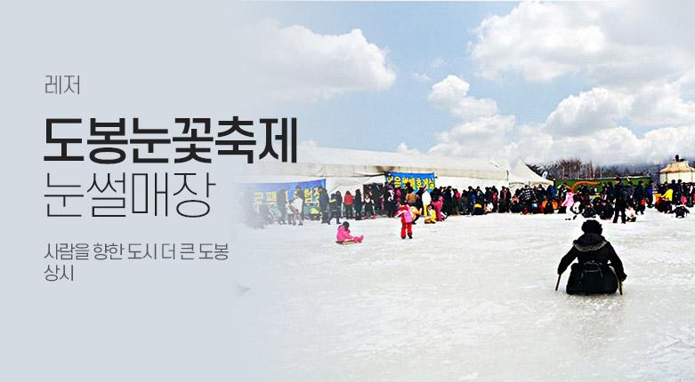 티켓_도봉눈꽃축제 눈썰매장_200120_19018811