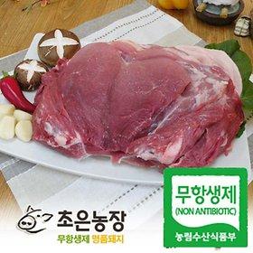 [농할쿠폰20%] 초은농장(무항생제) 명품돼지 앞/뒷다리살/등심 500g