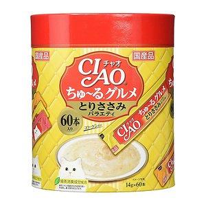 이나바 챠오츄르 구르메 닭고기 버라이어티 (SC-140) 14g 60개입