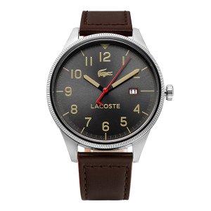 라코스테 LACOSTE 2011020 남성가죽 43mm