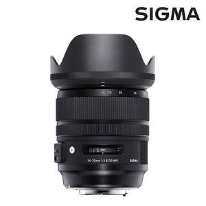 정품 시그마 Art 24-70mm F2.8 DG OS HSM 캐논용