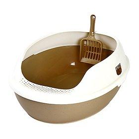 마칼 거름망 고양이 화장실 브라운