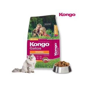 콩고 캣 홀리스틱 치킨 연어 고양이사료2.5kg(500g*5)