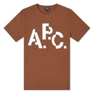 [아페쎄] 19FW MEN 티셔츠 CODCS H26829 BROWN