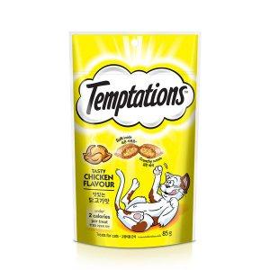 템테이션 캣 맛있는 닭고기맛 85g