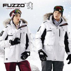 푸조 스노우보드 자켓 FZ823_2 화이트 스키자켓