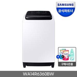 삼성전자 워블 세탁기 14kg WA14R6360BW