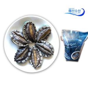 [수산쿠폰20%] 해신수산 완도활전복 특大 8-9미 1kg