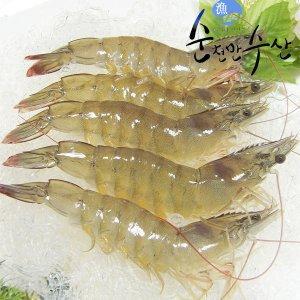 [수산쿠폰20%] 국내산 생물 새우 1kg 35-45미 / 2020년산