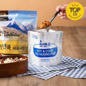 [참미푸드] 핫앤쿡 제육비빔밥 (120g x 4개입)