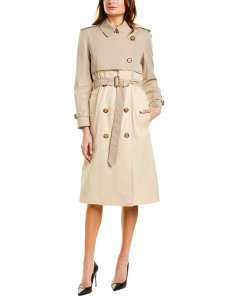 Burberry Two-Tone Reconstructed Trench Coat