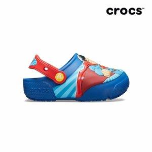 (하프클럽)[크록스] 아동 CROCSFL SUPERMAN LIGHTS CLOG K BLJ_P060839610