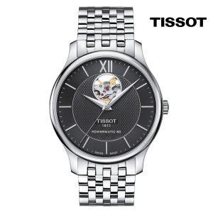 티쏘 트래디션 하트 T063.907.11.058.00 40mm 메탈