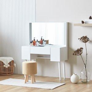 파로마 스완 화장대/수납화장대 (의자별매)