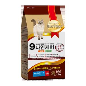 스마트하트골드 캣 나인케어 체형관리 1.2kg