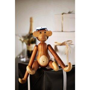 덴마크 로젠달 카이 보예센 목각인형 원숭이 우드토이