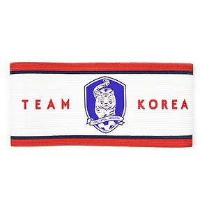(재입고예정) 주장완장 a형 Team Korea (White)