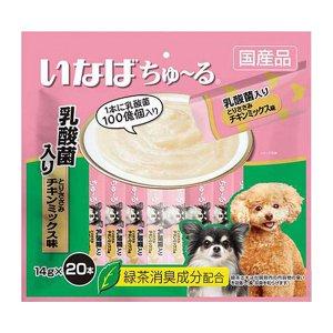이나바 강아지츄르 유산균 닭가슴살&치킨믹스 (DS-12) 20개입