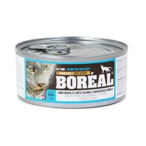 보레알 치킨&연어&칠면조 캔 156g