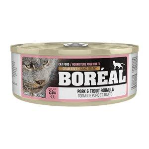 보레알 돼지고기&송어 캔 80g