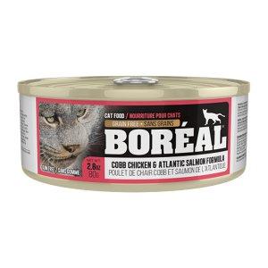 보레알 치킨&연어 캔 80g