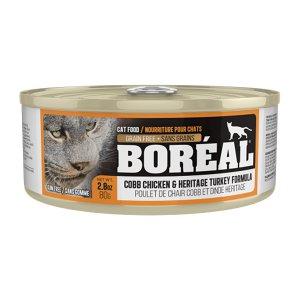 보레알 치킨&칠면조 캔 80g
