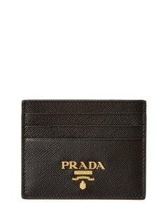 프라다 프라다 로고 사피아노 가죽 카드케이스 Prada Logo Saffiano Leather Card Case