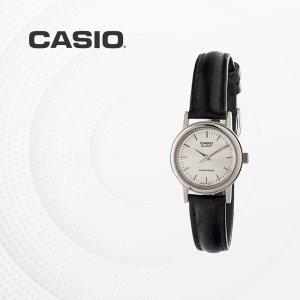 카시오 CASIO LTP-1095E-7A 가죽밴드 여성 손목시계