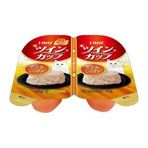 [유통기한 2021-03-17] 이나바 트윈컵 닭가슴살&치어 (IMC-215) 70g