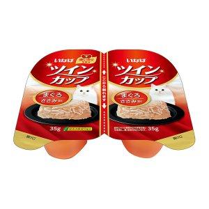 [유통기한 2021-03-06] 이나바 트윈컵 참치&닭가슴살 (IMC-211) 70g