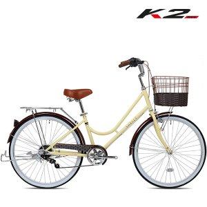 2021 K2BIKE 클래식 여성용자전거 쉘리26인치 7단 조립별도