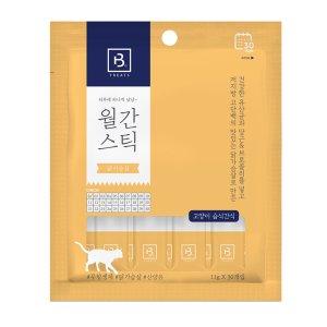 브리더랩 월간스틱 닭가슴살 11g 30개입