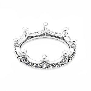 PANDORA 판도라 197087CZ Enchanted Crown 반지