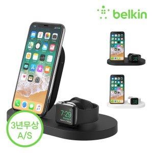 #15% 추가할인#  벨킨 아이폰 + 애플워치 3in1 무선 충전독 F8J235kr