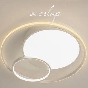 다올라이팅 LED방등 오버랩(2가지 디자인) LED50W
