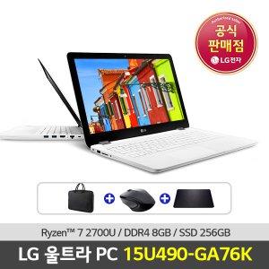 LG전자 울트라PC 15U490-GA76K 라이젠7/윈10탑재