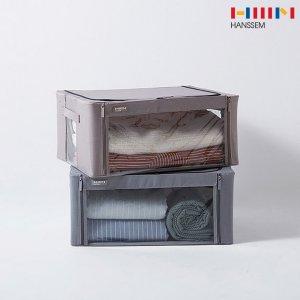 한샘 에브리 칸칸 리빙박스 47L/수납박스/옷정리함/보