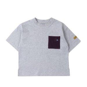 [갤러리아]남아 그레이 포켓 티셔츠(BU17TS07GY)