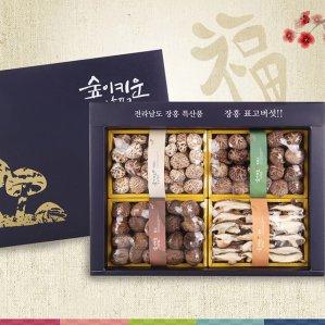 장흥표고버섯 선물세트 백화고 혼합특선