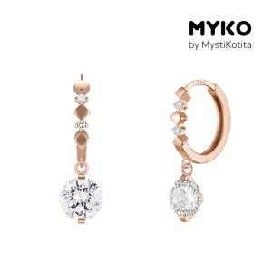 [미코주얼리] 14k 핀 클로 귀걸이 MK3EC6