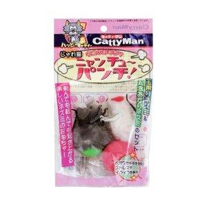 캐티맨 고양이장난감 쟈레네코 오뚜기 마우스 2P