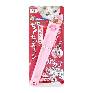 캐티맨 고양이 찹찹 스푼 츄르짜개