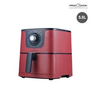 [프로피쿡] 에어프라이어5.5L 레드(PCC-5008RAF)