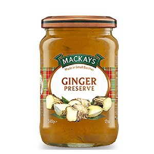 Ginger foods MacKays Ginger Preserves 340g