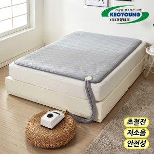 거영 온수매트 황토와플 솔리드 싱글 더블 온열매트