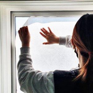 창문용 필터원단 MB멜트블로운 PM2.5 초미세먼지 차단