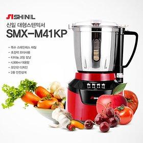 신일 대용량 스텐믹서기 SMX-M41KP 4리터 650W 국내산