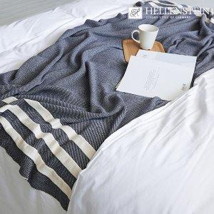 [헬렌스타인] 세인트 라인 니트 블랭킷 (130x180)