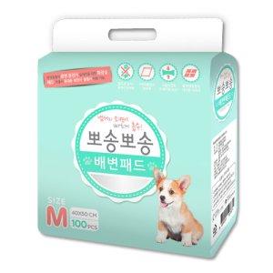 뽀송뽀송 배변패드 100매X3개